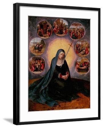 The Virgin of the Seven Sorrows--Framed Giclee Print
