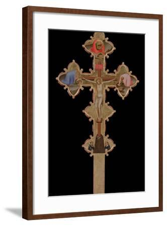 Portable, Double Sided Cross, 1335-1340-Bernardo Daddi-Framed Giclee Print