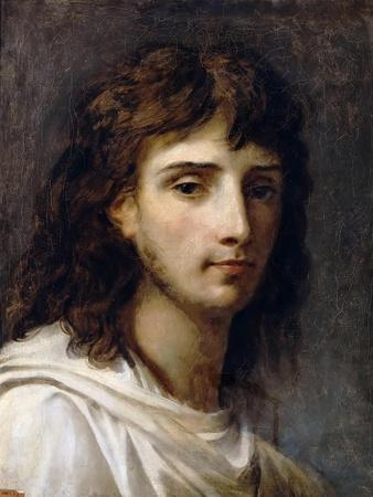 Self-Portrait-Antoine-Jean Gros-Framed Giclee Print