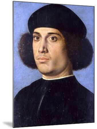 Portrait of a Man, Early16th C-Andrea Previtali-Mounted Giclee Print