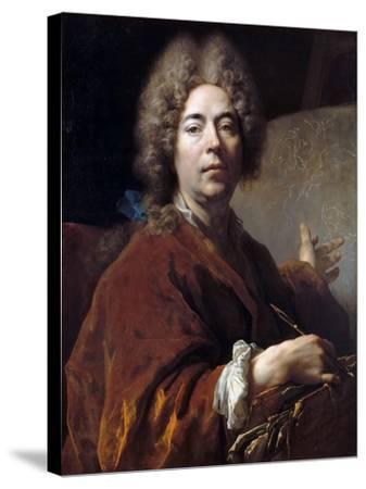 Self-Portrait-Nicolas de Largillière-Stretched Canvas Print