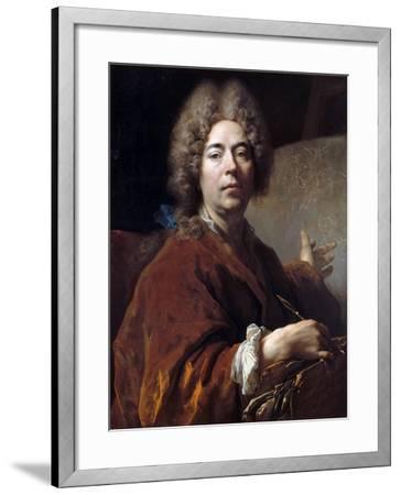Self-Portrait-Nicolas de Largillière-Framed Giclee Print