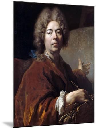 Self-Portrait-Nicolas de Largillière-Mounted Giclee Print
