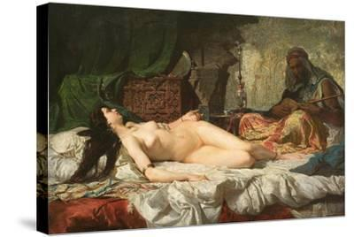 The Odalisque-Mari? Fortuny-Stretched Canvas Print