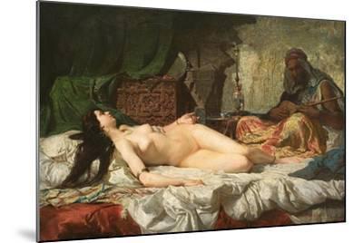 The Odalisque-Mari? Fortuny-Mounted Giclee Print