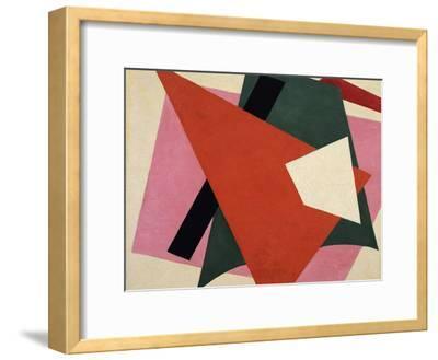 Architectonic Painting-Lyubov Sergeyevna Popova-Framed Giclee Print