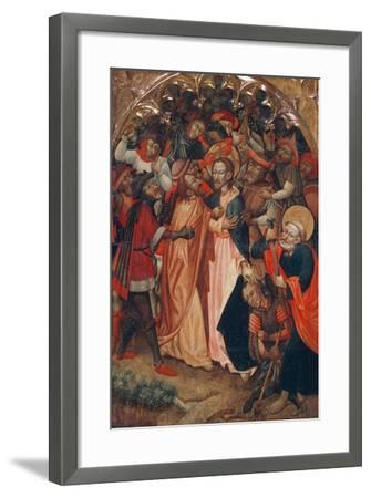 The Kiss of Judas--Framed Giclee Print