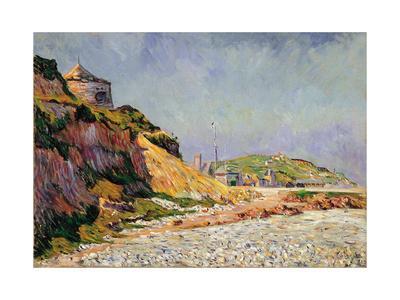 Port-En-Bessin, the Beach-Paul Signac-Framed Giclee Print