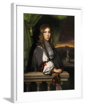 Portrait of Mattheus Van Den Broucke-Jacobus Leveck-Framed Giclee Print