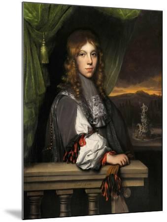 Portrait of Mattheus Van Den Broucke-Jacobus Leveck-Mounted Giclee Print