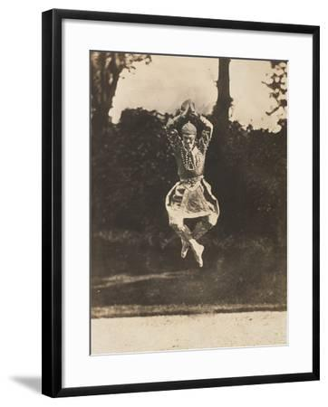 Danse Siamoise of Vaslav Nijinsky in the Ballet Les Orientales-Eugène Druet-Framed Giclee Print