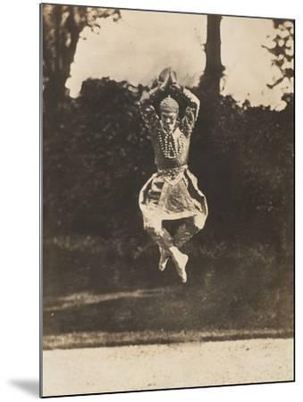 Danse Siamoise of Vaslav Nijinsky in the Ballet Les Orientales-Eugène Druet-Mounted Giclee Print