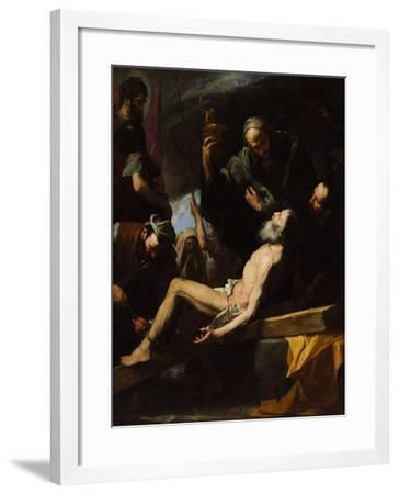 Martyrdom of Saint Andrew-Jos? de Ribera-Framed Giclee Print