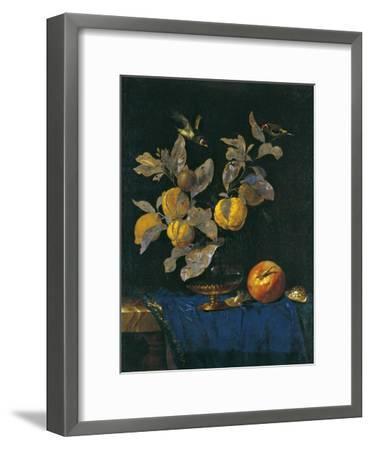 Still Life with Fruit-Willem van Aelst-Framed Giclee Print