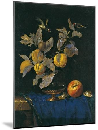 Still Life with Fruit-Willem van Aelst-Mounted Giclee Print