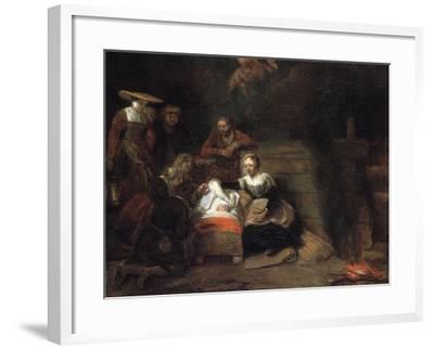 The Adoration of the Christ Child-Samuel Dirksz van Hoogstraten-Framed Giclee Print
