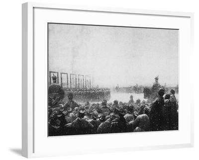 The Execution of the Terrorists in Russia, 1884-1885-Vasili Vasilyevich Vereshchagin-Framed Giclee Print