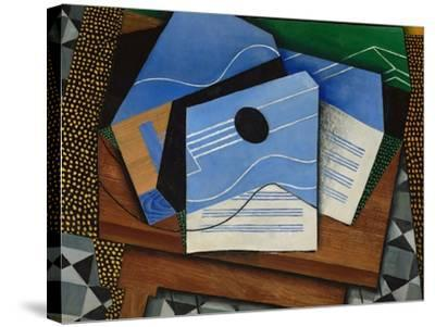 Guitar on a Table-Juan Gris-Stretched Canvas Print