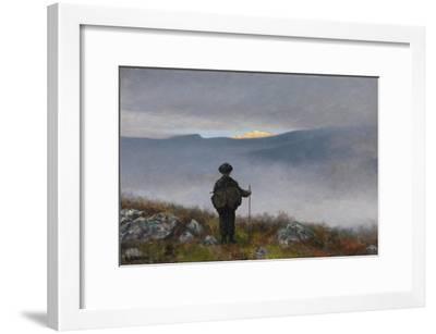 Soria Moria Castle-Theodor Kittelsen-Framed Giclee Print