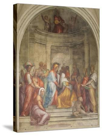 The Visitation-Pontormo-Stretched Canvas Print
