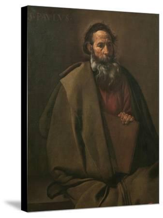 Saint Paul-Diego Velazquez-Stretched Canvas Print