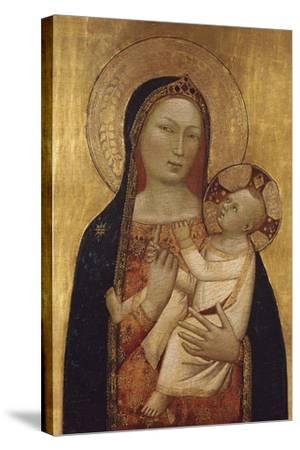 The Virgin and Child-Bernardo Daddi-Stretched Canvas Print