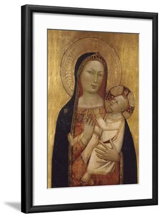 The Virgin and Child-Bernardo Daddi-Framed Giclee Print