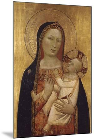 The Virgin and Child-Bernardo Daddi-Mounted Giclee Print