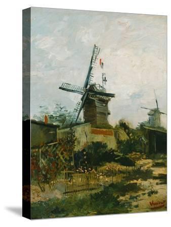 Windmills on Montmartre-Vincent van Gogh-Stretched Canvas Print