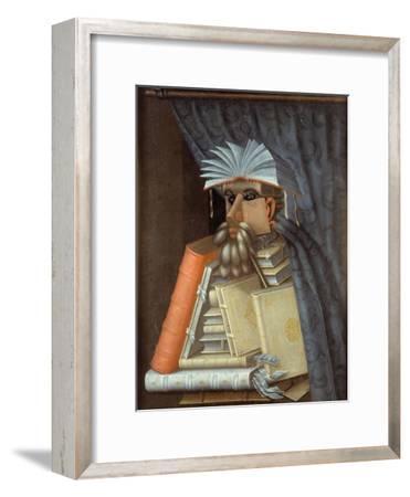 The Librarian-Giuseppe Arcimboldo-Framed Giclee Print