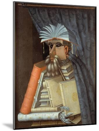 The Librarian-Giuseppe Arcimboldo-Mounted Giclee Print