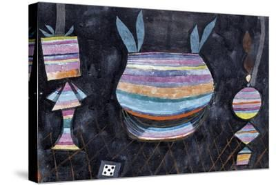 Still Life with Dice-Paul Klee-Stretched Canvas Print