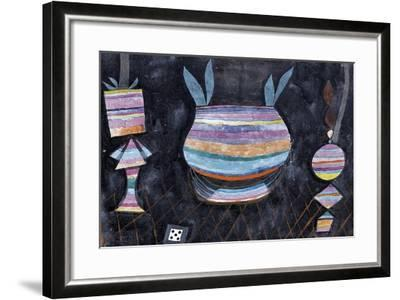 Still Life with Dice-Paul Klee-Framed Giclee Print