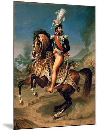 Equestrian Portrait of Joachim Murat (1767-181)-Antoine-Jean Gros-Mounted Giclee Print