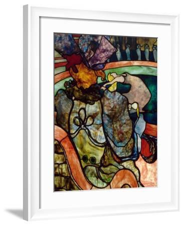 Papa Chrysanthème at the New Circus-Henri de Toulouse-Lautrec-Framed Giclee Print