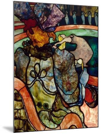 Papa Chrysanthème at the New Circus-Henri de Toulouse-Lautrec-Mounted Giclee Print