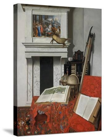 Still-Life with Rarities-Jan Van Der Heyden-Stretched Canvas Print