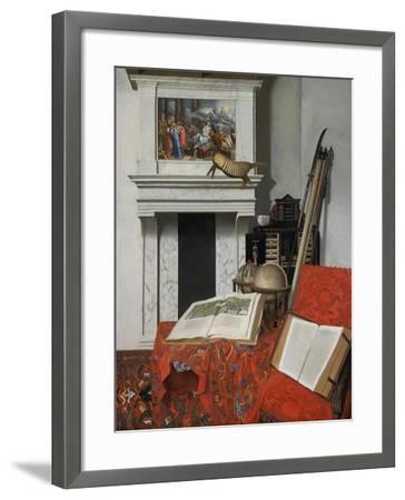 Still-Life with Rarities-Jan Van Der Heyden-Framed Giclee Print
