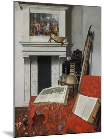 Still-Life with Rarities-Jan Van Der Heyden-Mounted Giclee Print