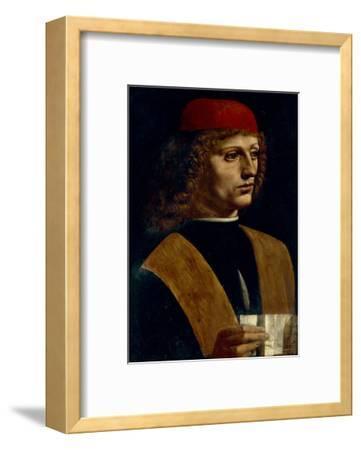 Portrait of a Musician-Leonardo da Vinci-Framed Giclee Print