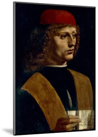 Portrait of a Musician-Leonardo da Vinci-Mounted Giclee Print