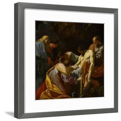 The Entombment-Simon Vouet-Framed Giclee Print
