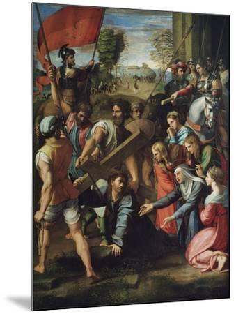Christ Carrying the Cross-Raphael-Mounted Giclee Print