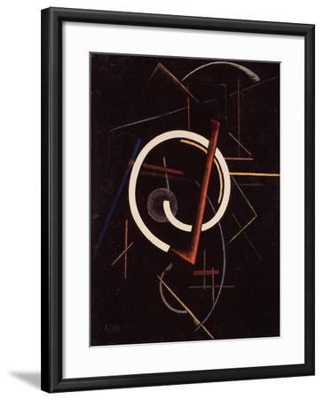 Linear Structure, 1922-Ivan Vassilyevich Klyun-Framed Giclee Print