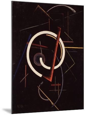 Linear Structure, 1922-Ivan Vassilyevich Klyun-Mounted Giclee Print