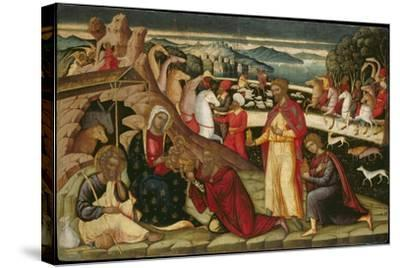 The Adoration of the Magi, C. 1525-Ioannis Permeniatis-Stretched Canvas Print