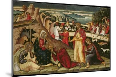 The Adoration of the Magi, C. 1525-Ioannis Permeniatis-Mounted Giclee Print