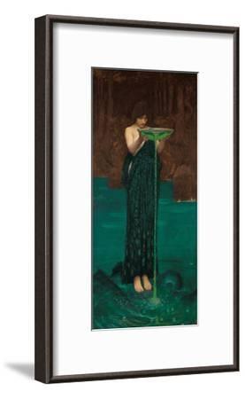 Circe Invidiosa, 1892-John William Waterhouse-Framed Giclee Print