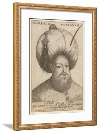 Murad III (1546-159), Sultan of the Ottoman Empire, 1593 Giclee Print by |  Art com