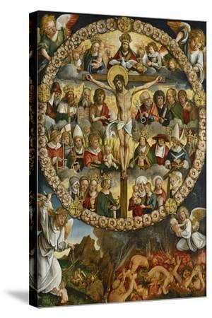 Triptych of the Rosary-Hans Suess von Kulmbach-Stretched Canvas Print